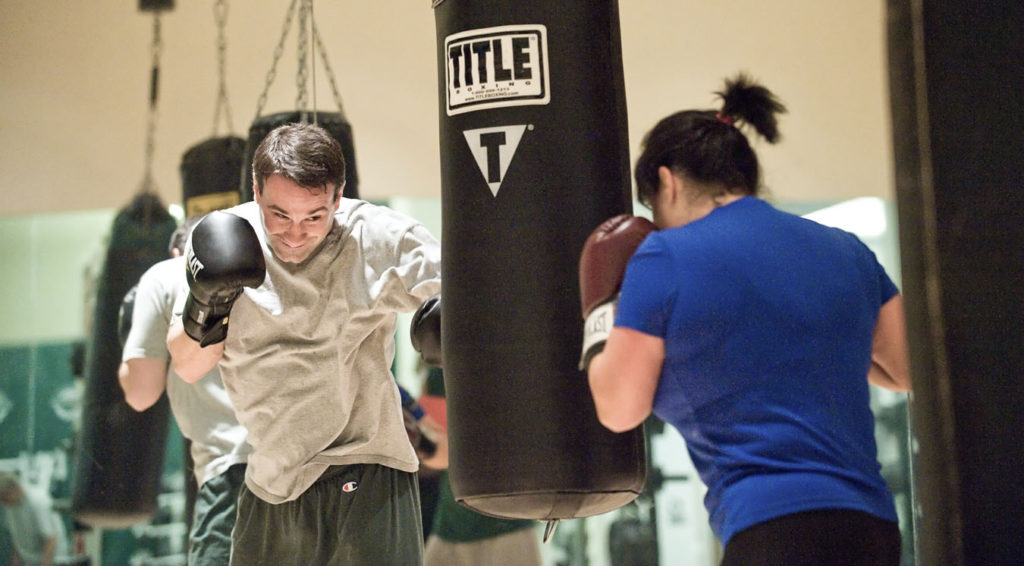 midtown east fitness classes boxing
